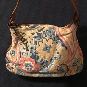 Floral Fossil Bag